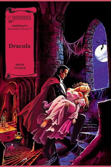 Dracula (A Graphic Novel Audio) - Illustrated Classics - cover