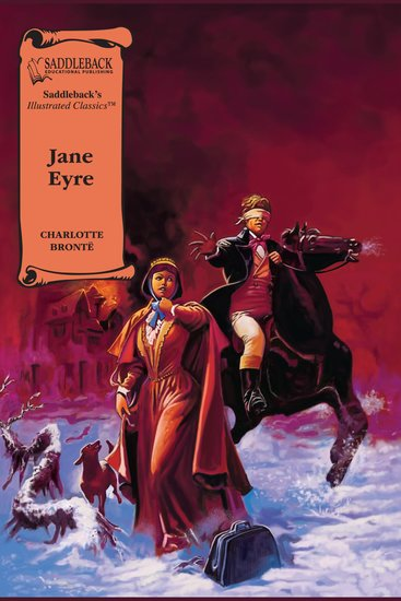 Jane Eyre (A Graphic Novel Audio) - Illustrated Classics - cover