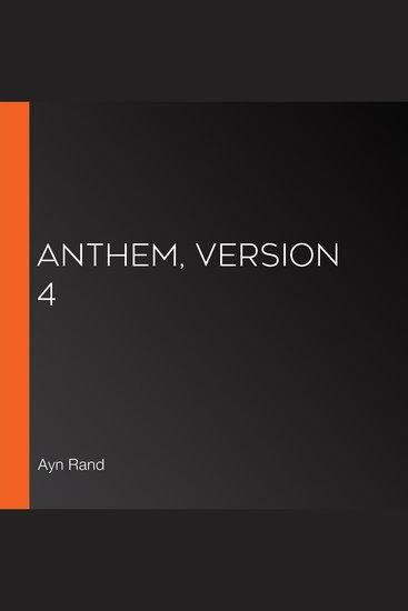 Anthem Version 4 - cover