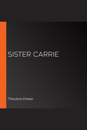 Sister Carrie - cover
