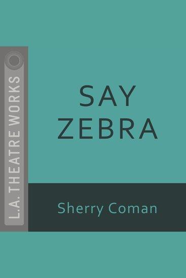 Say Zebra - cover