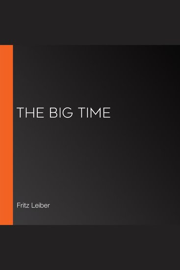 The Big Time - cover
