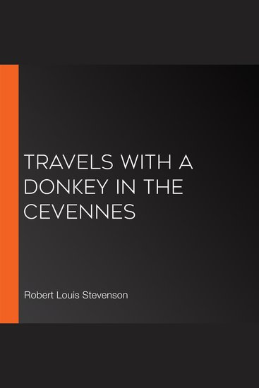 Travels with a Donkey in the Cevennes - cover