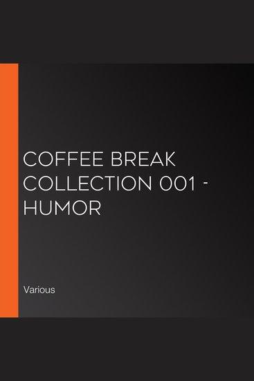 Coffee Break Collection 001 - Humor - cover