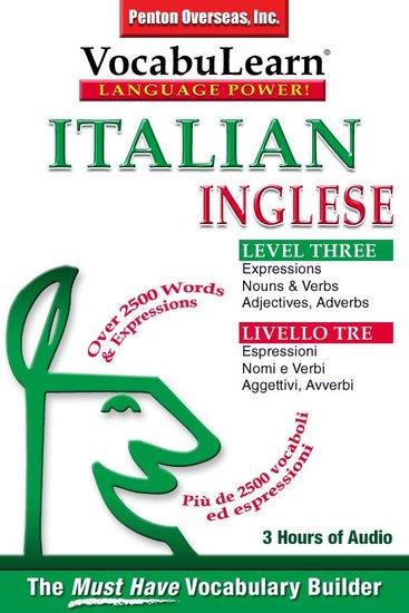 Vocabulearn: Italian English Level 3 - Bilingual Vocabulary Audio Series - cover