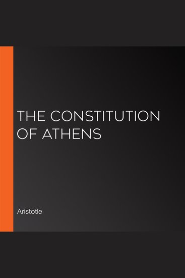 The Constitution of Athens - cover