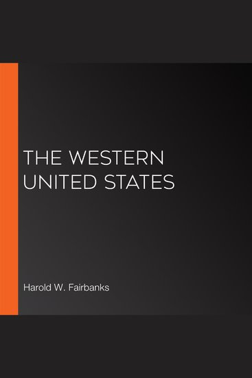 The Western United States - cover
