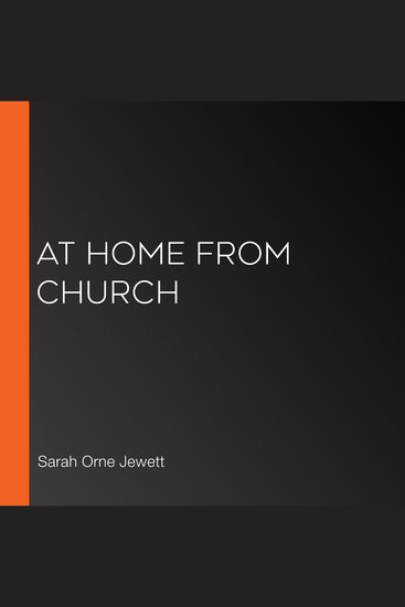 At Home From Church - cover