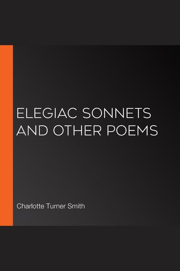 Elegiac Sonnets and Other Poems - cover