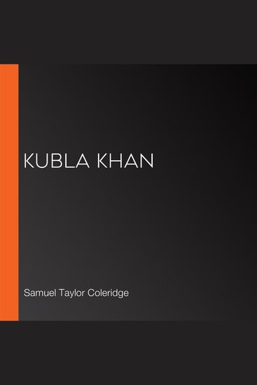 Kubla Khan - cover