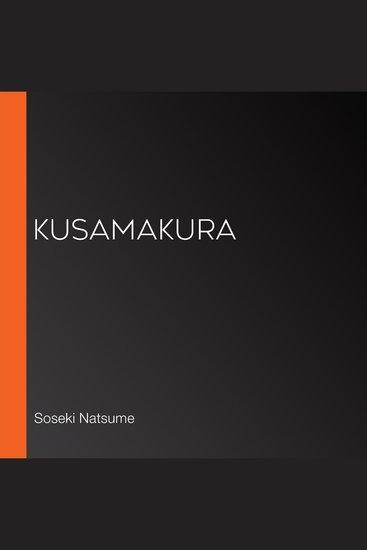 Kusamakura - cover