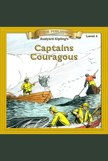 Captains Courageous - Level 4 - cover