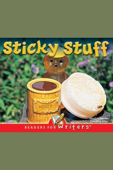 Sticky Stuff - cover