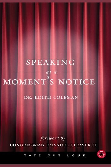 Speaking at a Moment's Notice - cover