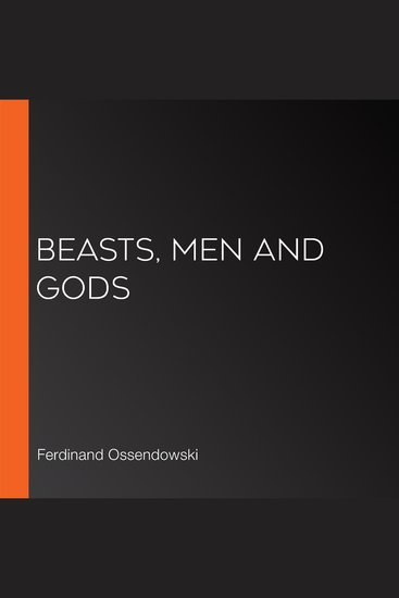 Beasts Men and Gods - cover