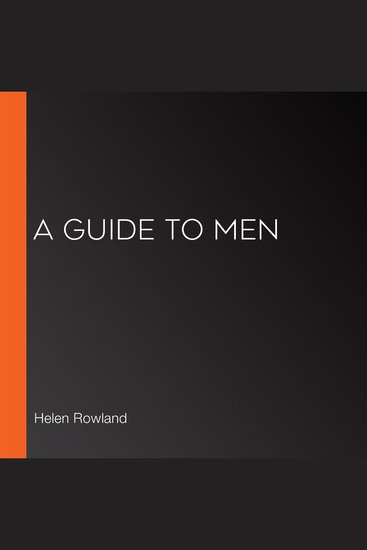 Guide to Men A - cover