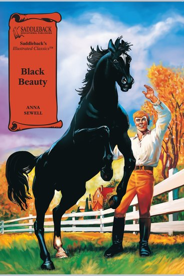 Black Beauty (A Graphic Novel Audio) - Illustrated Classics - cover