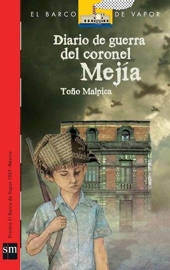 Diario de guerra del coronel Mejía - cover