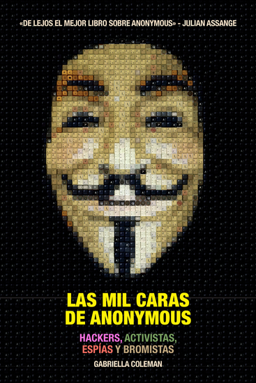 Las mil caras de Anonymous - cover
