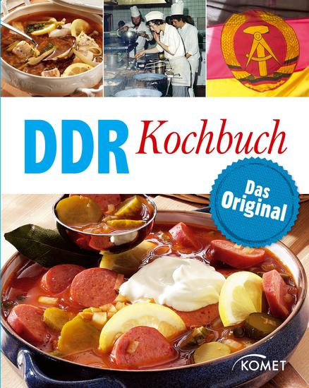 DDR Kochbuch - Das Original: Rezepte Klassiker aus der DDR-Küche - cover