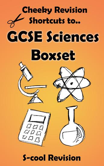 GCSE Sciences Revision Boxset - Cheeky Revision Shortcuts - cover