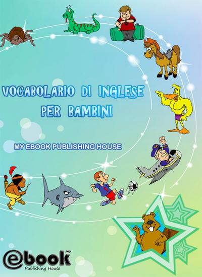 Vocabolario di inglese per bambini - cover