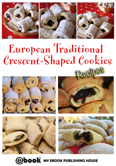 European Traditional Crescent-Shaped Cookies - Recipes - cover