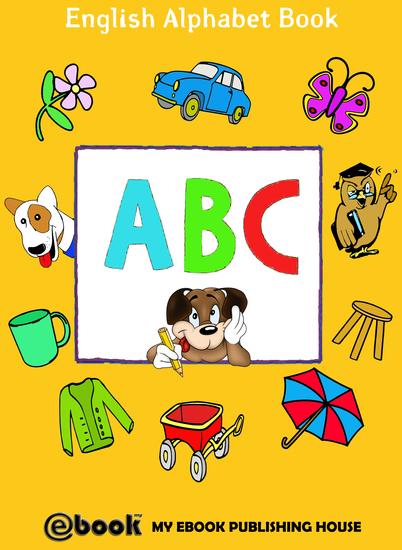 ABC - English Alphabet Book - cover