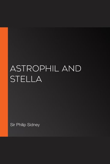 Astrophil and Stella - cover