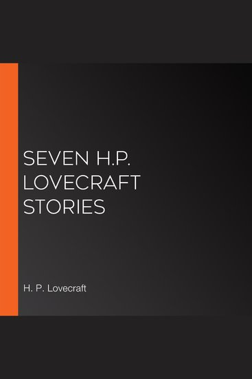 Seven HP Lovecraft Stories - cover