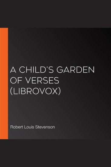 Child's Garden of Verses (Librovox) A - cover