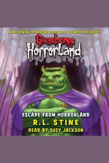Goosebumps HorrorLand: Escape from HorrorLand - cover