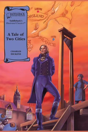 Tale of Two Cities A (A Graphic Novel Audio) - Illustrated Classics - cover