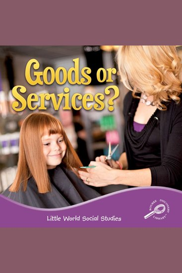 Goods or Services? - cover