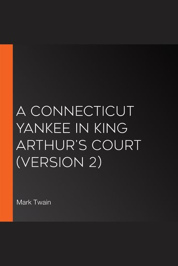 A Connecticut Yankee in King Arthur's Court (version 2) - cover