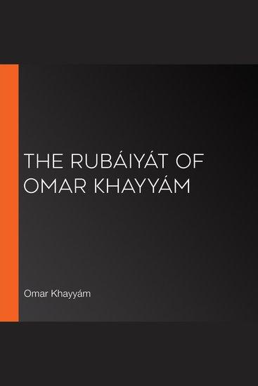 Rubáiyát of Omar Khayyám The (Fitzgerald version) - cover