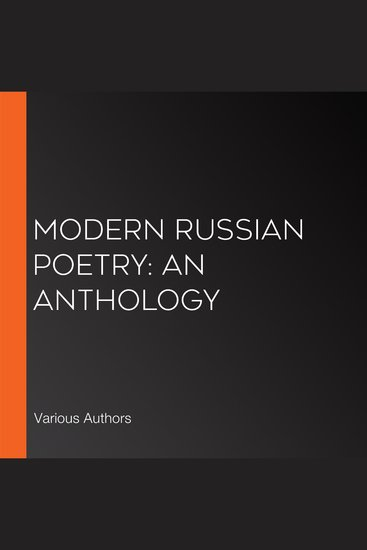Modern Russian Poetry: An Anthology - cover