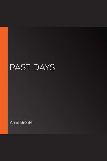 Past Days - cover
