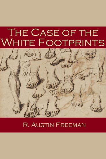 The Case of the White Footprints - cover