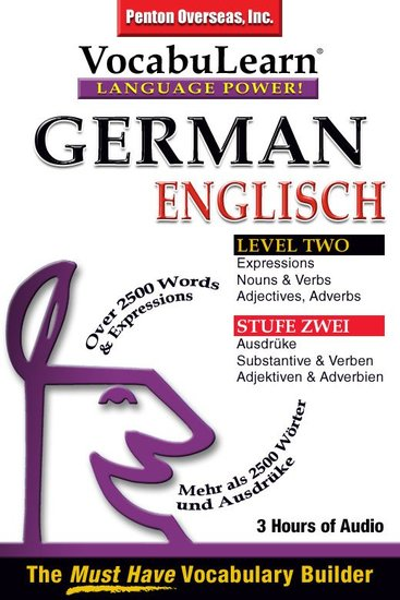 German English Level 2 - Bilingual Vocabulary Audio Series - cover