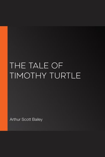 The Tale of Timothy Turtle - cover