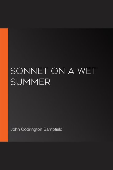 Sonnet on a Wet Summer - cover