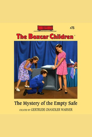 The Mystery of the Empty Safe - cover
