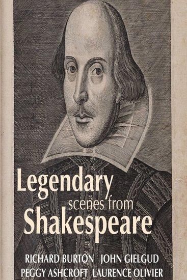 Legendary Scenes from Shakespeare - cover