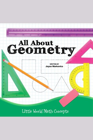 All About Geometry - Little World Math Concepts - cover