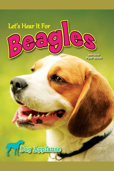 Let's Hear It For Beagles - cover