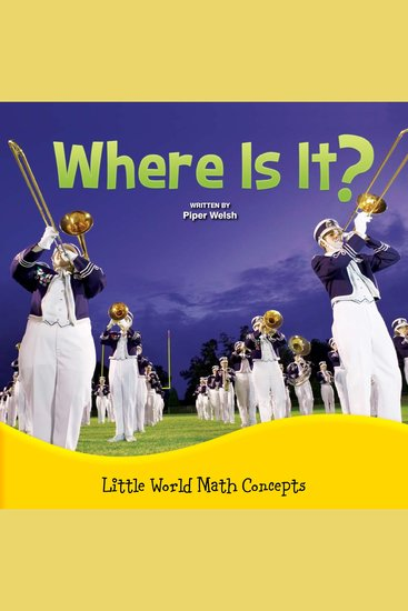 Where Is It? - Little World Math Concepts - cover