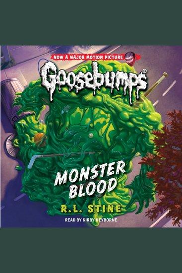 Classic Goosebumps - Monster Blood - cover
