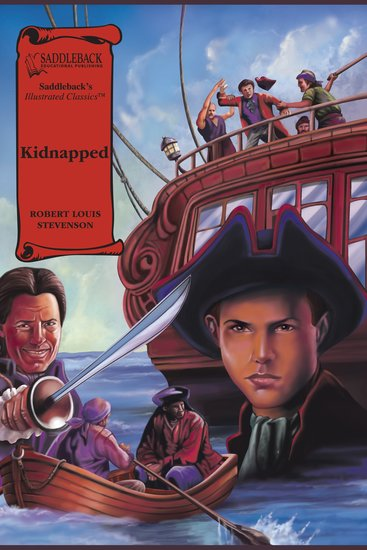 Kidnapped (A Graphic Novel Audio) - Illustrated Classics - cover