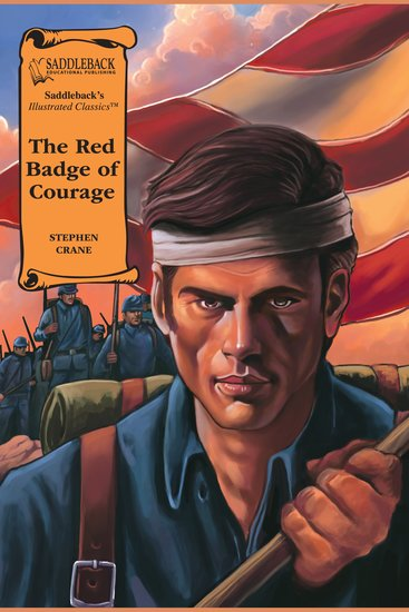 Red Badge of Courage The (A Graphic Novel Audio) - Illustrated Classics - cover